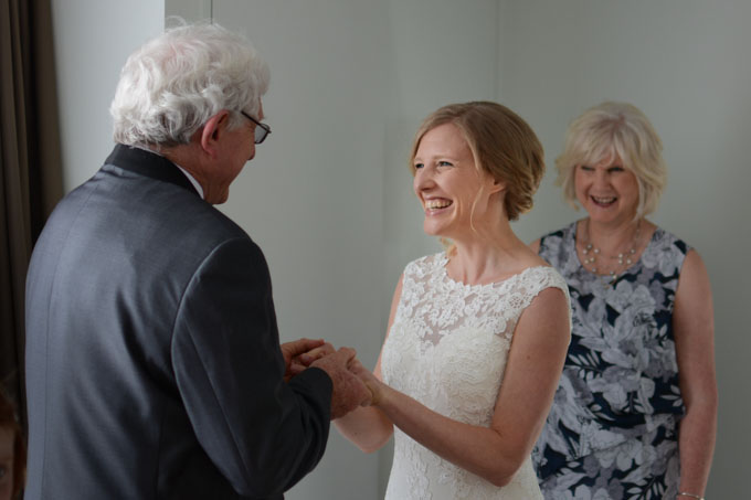 Joy, Mum an Dad by Wellington wedding photographer, Luke Pilkinton-Ching
